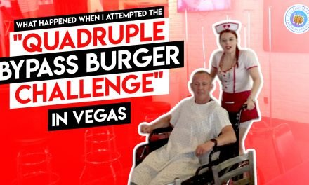 What Happened When I Attempted the Quadruple Bypass Burger Challenge in Vegas